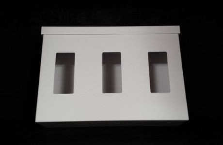 #19TGB Triple Glove Box